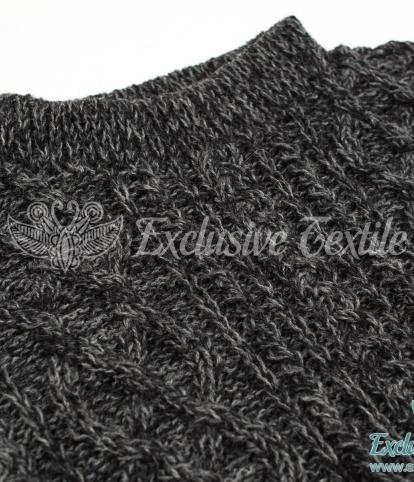 Вязаный свитер ручной работы MWS06Одежда Свитера