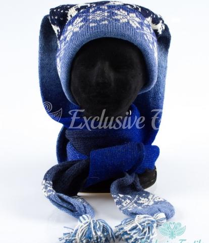 Комплект шапка-шарф трансформер WWLC18Аксессуары Шапки