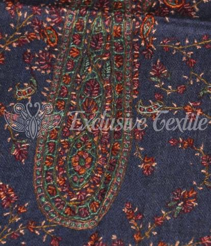 Палантин из пашмины с ручной вышивкой PASHD11Аксессуары Палантины