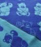 Детский плед покрывало для новорожденных на выписку и в коляску из овечьей шерсти DWP01 Аксессуары для дома