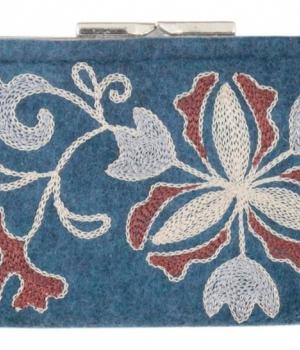 Кошелек из войлока с вышивкой TWSV02Аксессуары Сумки
