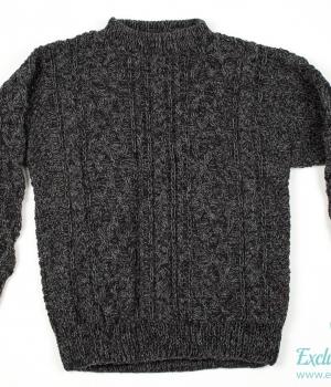 Вязаный свитер ручной работы WDS04Одежда Свитера и джемпера